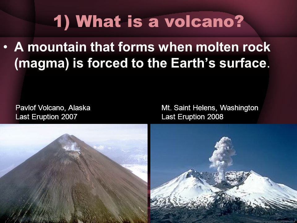 Volcanoes. Do Now 11/12/13 1.What is magma? 2.At which type of ...
