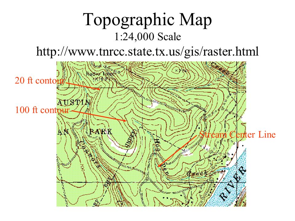 2 Topographic Map 1 24 000 Scale Http Www Tnrcc State Tx Us Gis Raster Html 20 Ft Contour 100 Ft Contour Stream Center Line
