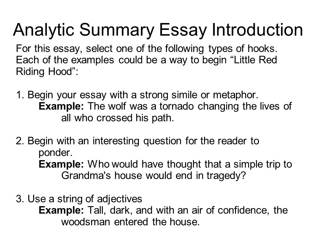 essay hooks how to start a narrative essay awesome hooks essay  writing portfolio mr butner writing portfolio due date analytic summary essay introduction for this essay select
