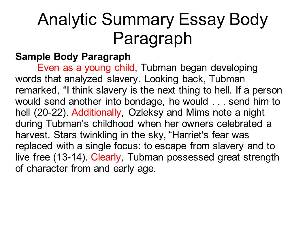 "an analytical essay Writing the analytical essay what does it mean to analyze analyze means ""to separate a subject into its parts (analyze), or the act or result of doing so."