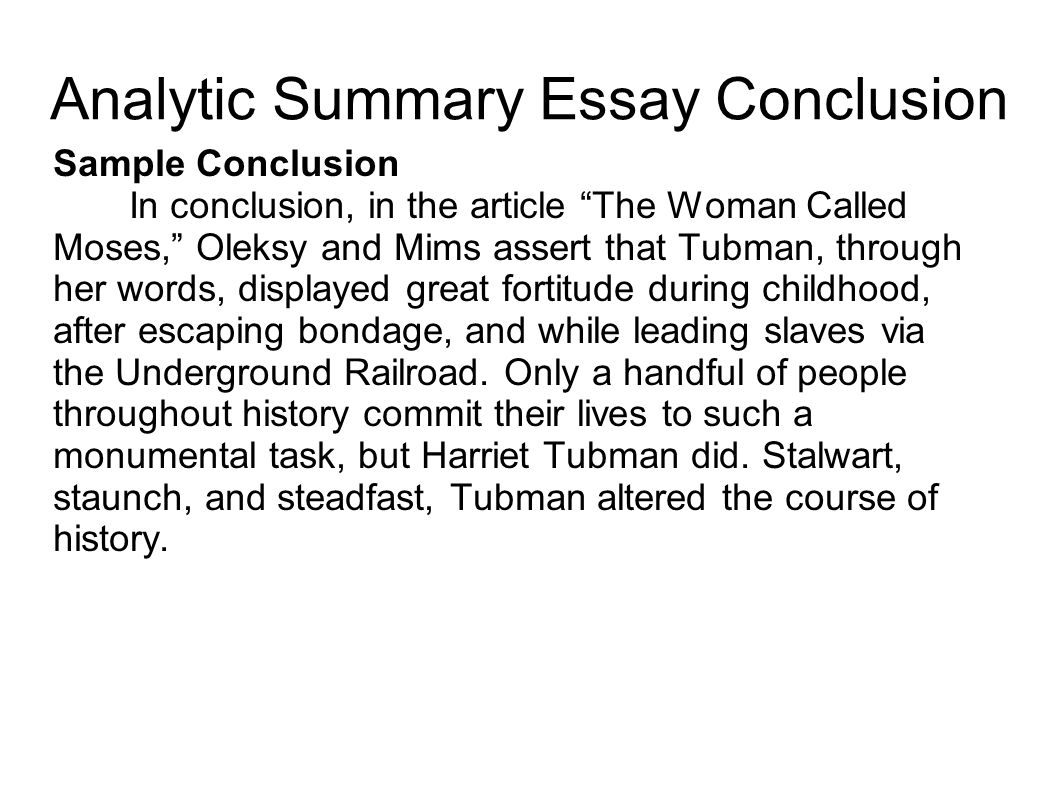 Summary essays harriet tubman essay thesis college paper