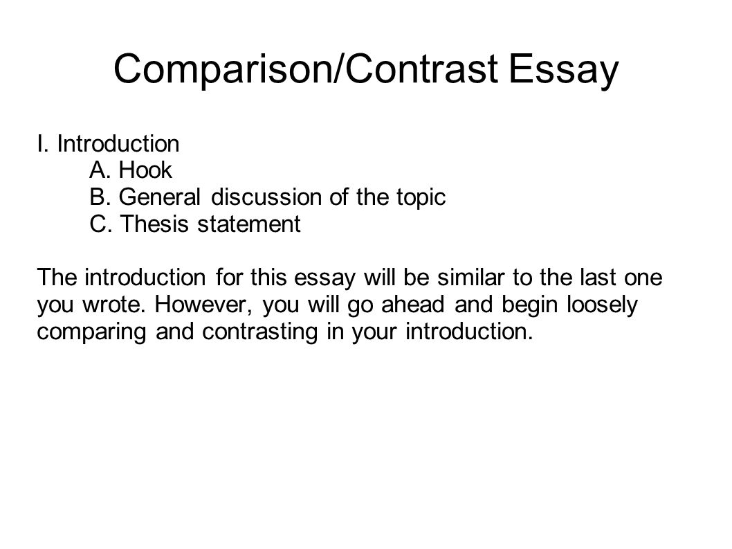 Writing A Thesis Statement For A Compare And Contrast Essay. Writing Your  Research Paper
