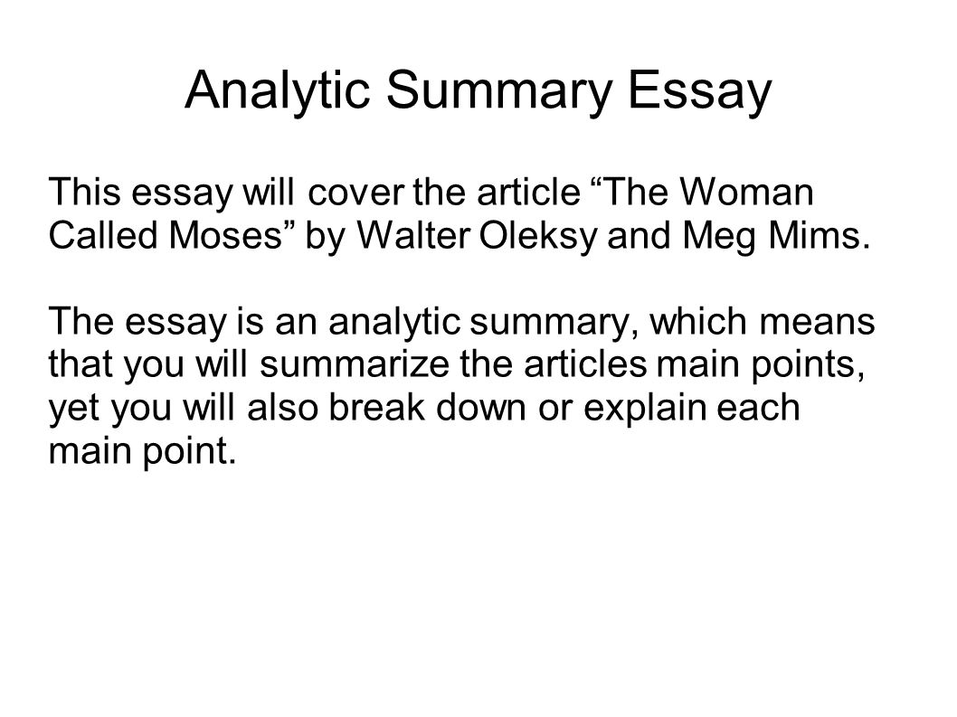 an analytical essay an analytical essay should be quote analysis ...