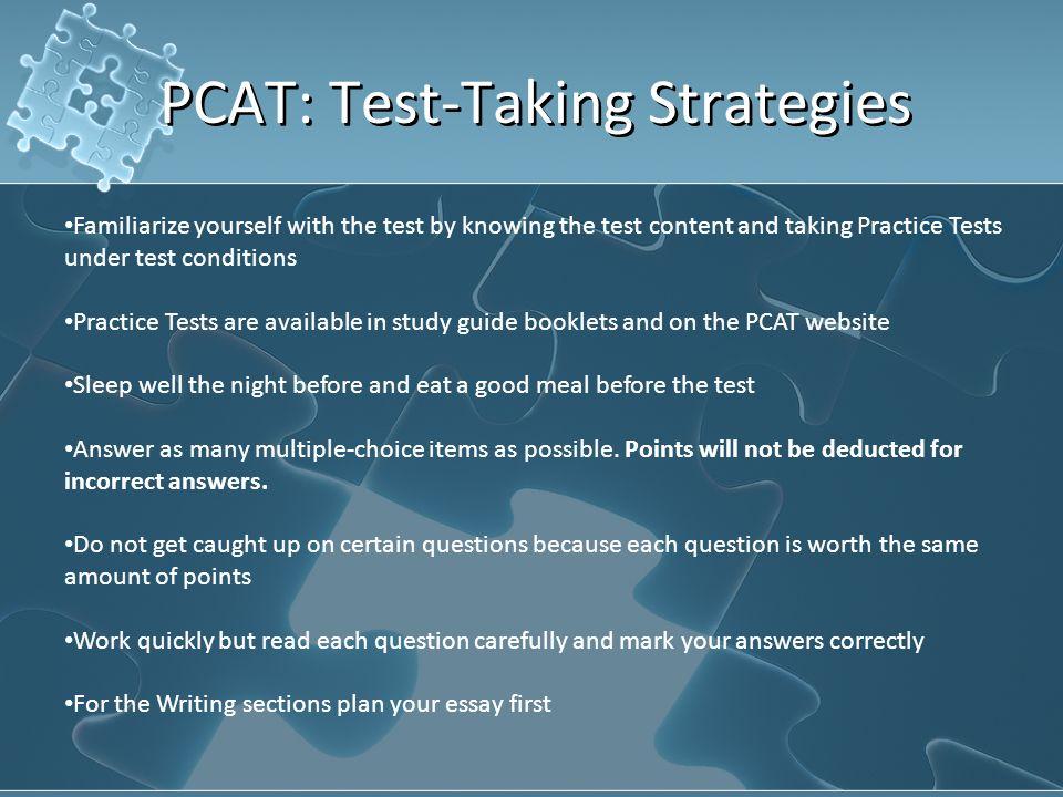 examples of good pcat essays