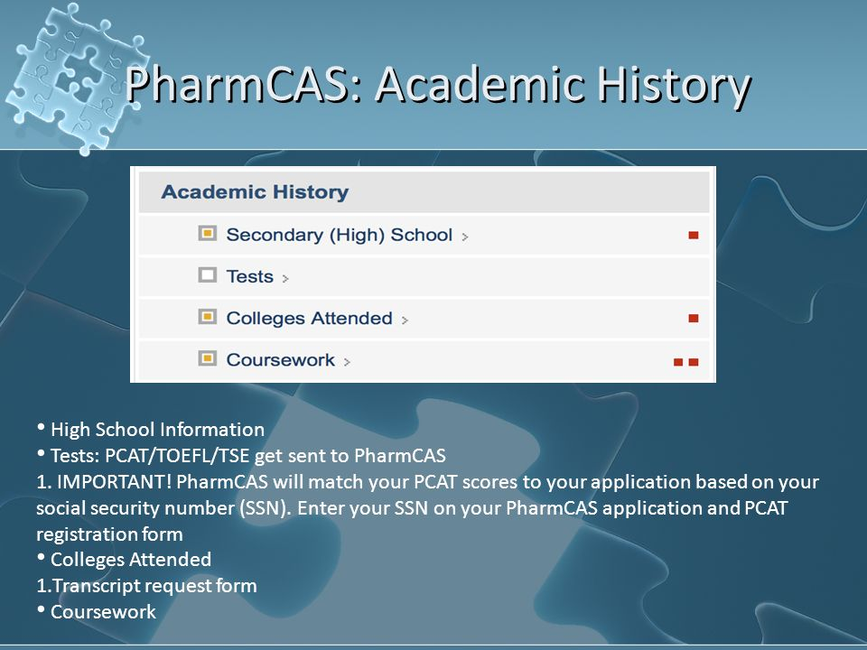 PILLS 10 th General Meeting Pharmacy School Application Workshop ...