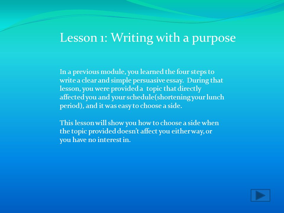 step by step persuasive essay writing A persuasive essay, also known as an argumentative essay, is a piece of academic writing where you use logic and reason to show that your point of view is more legitimate than any other you don't even have a precise topic, so you have to start from that step what title do you set.