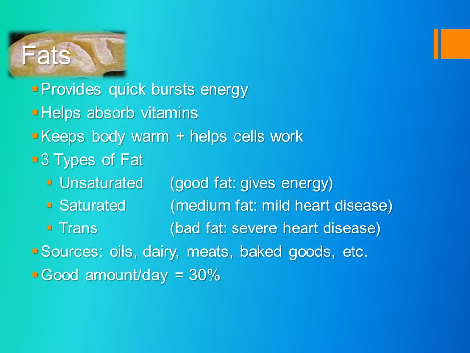 Carbohydrates Fats Proteins Fibre Vitamins Vitamins(detailed ...