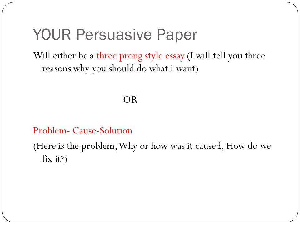 Solution Essay Example