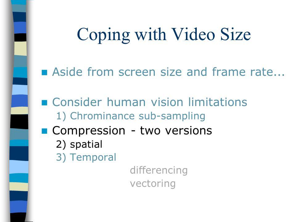 Digital Media Lecture 10: Video & Compression Georgia Gwinnett ...