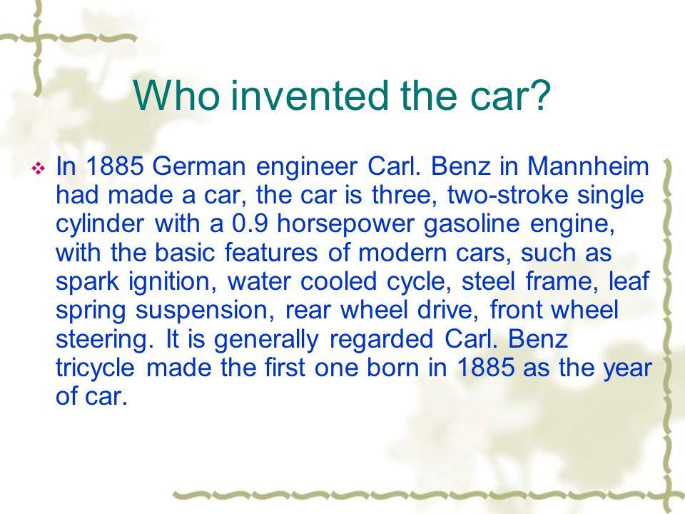 Car HongYu Mao. Table of contents IIntroduction 11. Who ...