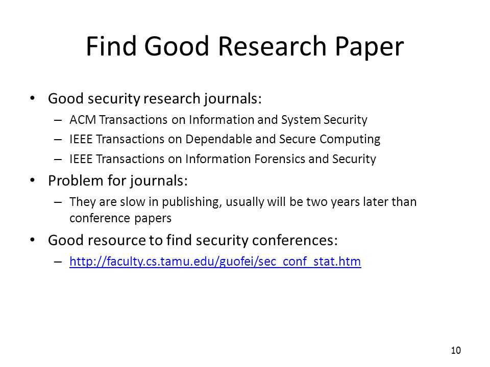 ieee research paper on information security