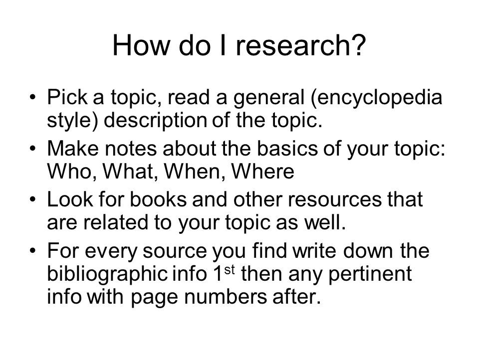 Write my picking a topic for a research paper