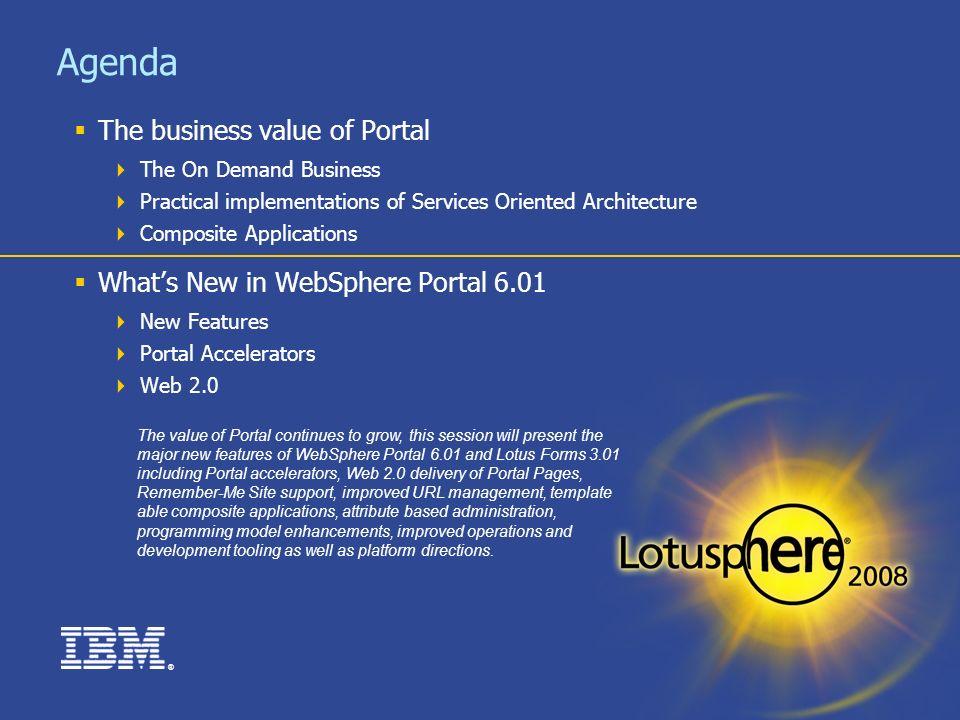 1. ® the power of websphere portal & portfolio in streamlining, Presentation templates