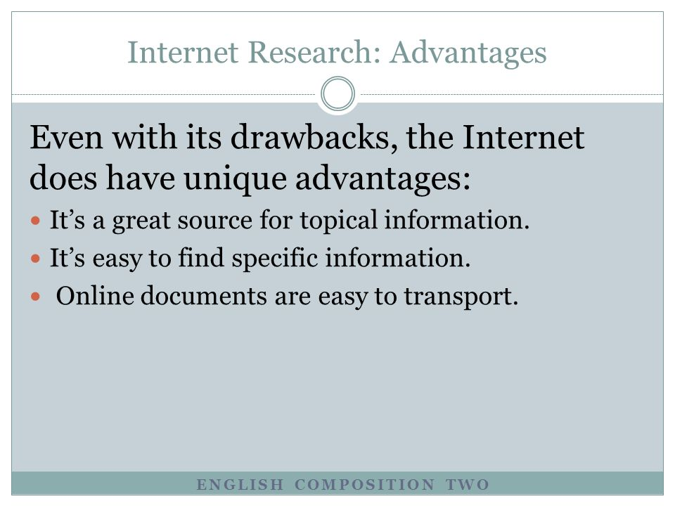 lesson using the internet topics advantages and disadvantages 3 english composition