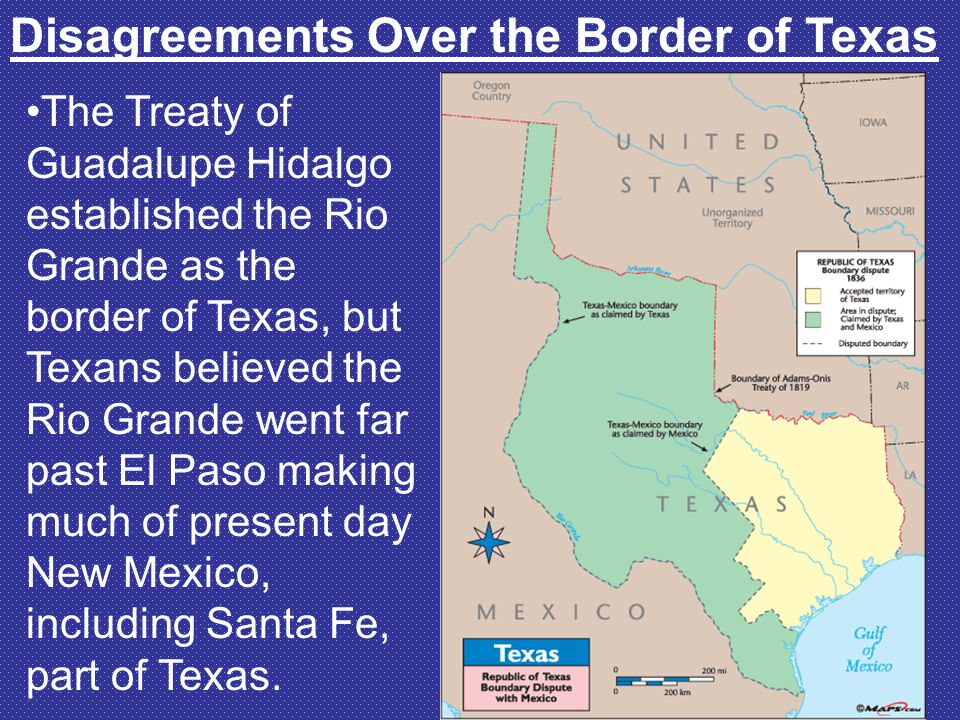 After The War Ch Part Ppt Video Online Download - Guadalupe hidalgo on us map