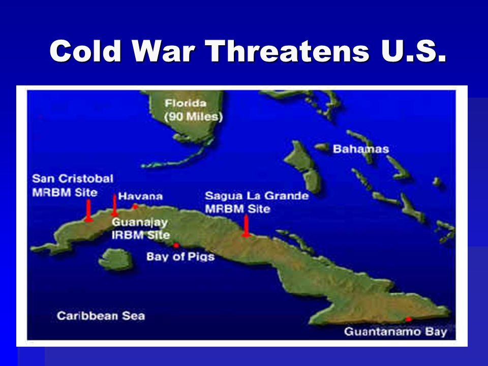 Cold War Threatens U.S.