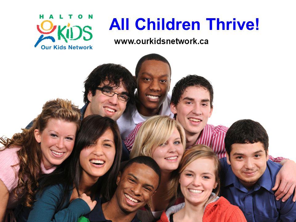All Children Thrive! www.ourkidsnetwork.ca