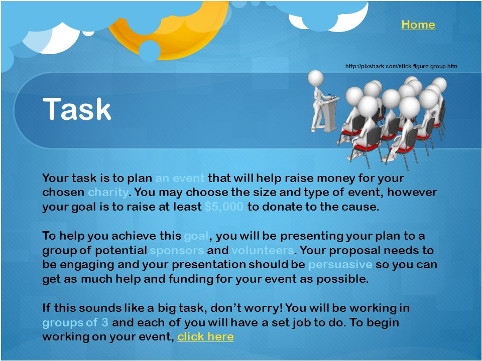 Charity Evaluation A Charity Event Webquest For Esl Students Link