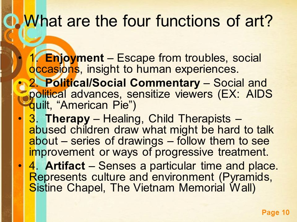 Free powerpoint templates page 1 free powerpoint templates what is free powerpoint templates page 10 what are the four functions of art toneelgroepblik Gallery