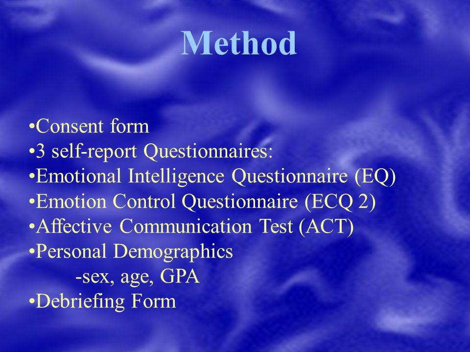 Emotional Intelligence: The Relationship Between Emotional ...