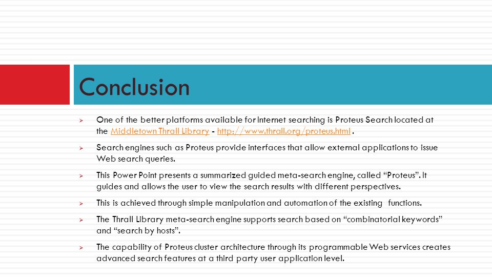 What Is A Search Engine. Widescreen Presentation Proteus, Keeper
