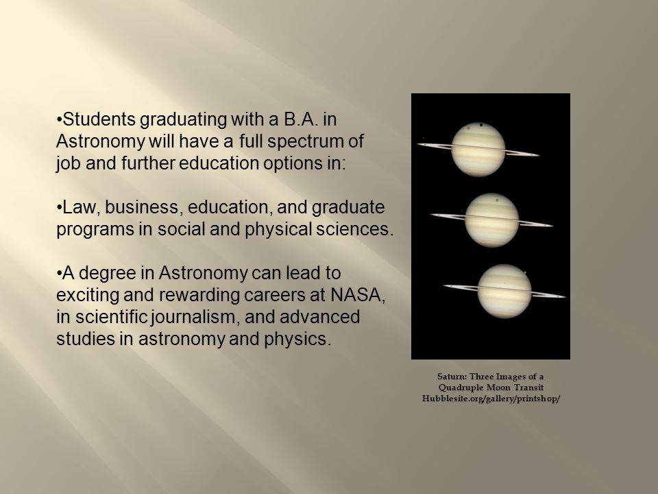 2 students graduating - Astronomy Jobs At Nasa