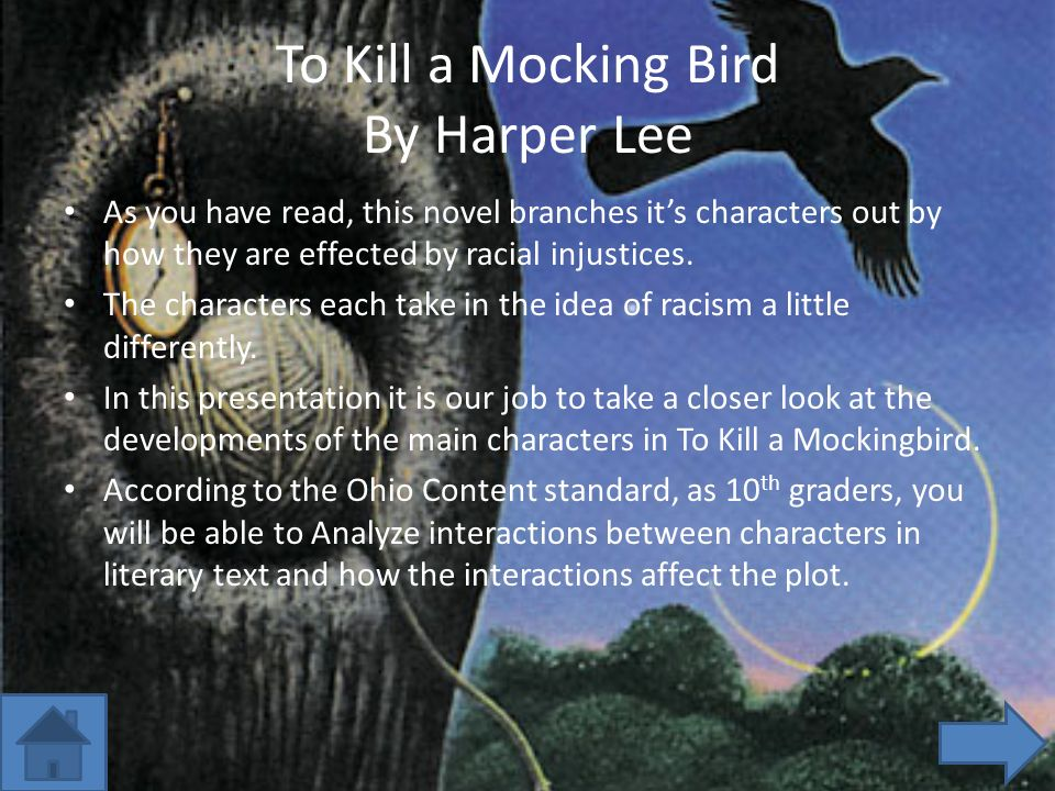 injustice in to kill a mockingbird essay Amanda's to kill a mockingbird essay to kill a mockingbird harper lee has done this to illustrate all points of injustice in the 1930s societal town of.