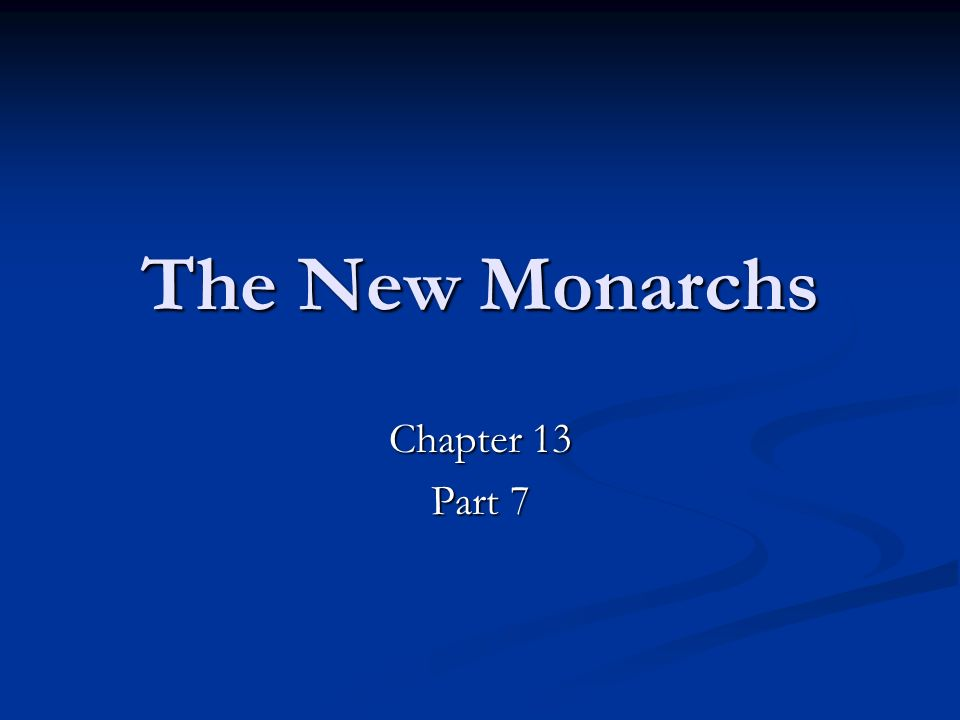 The New Monarchs Chapter 13 Part 7