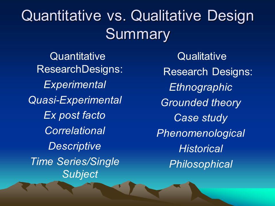 quantitative research theory essay