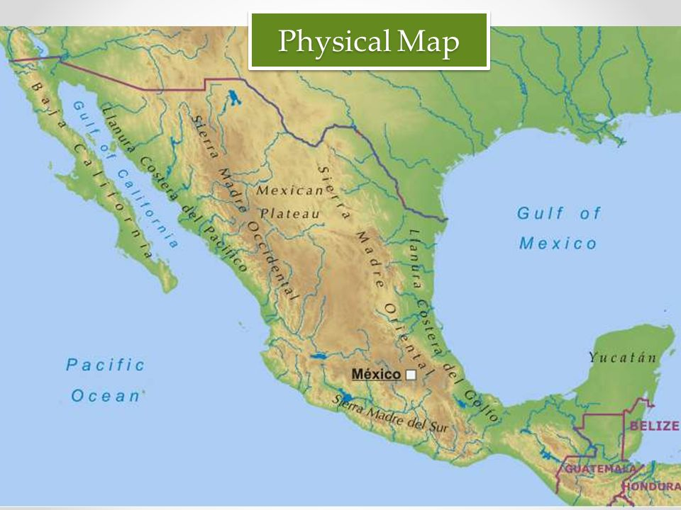Mexico by Mr Gianelli Political Map Physical Map ppt download