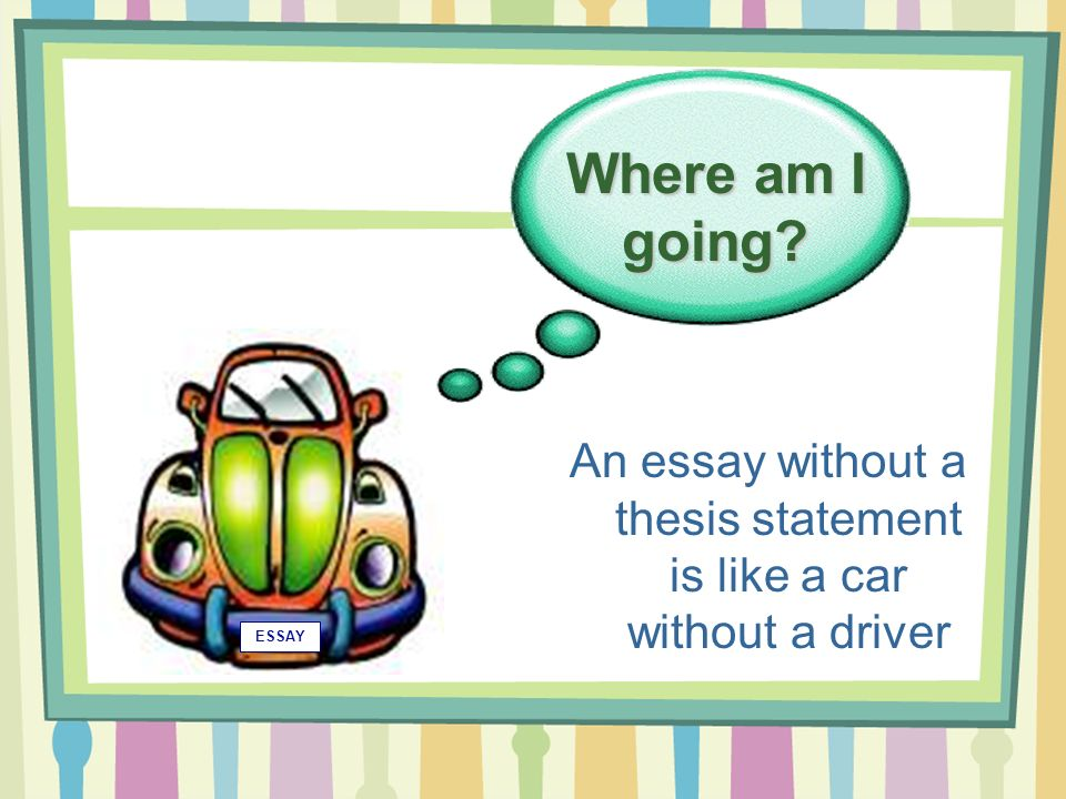 writing effective thesis statement powerpoint Writing an excellent thesis statement how to write a thesis statement this combination of specifics and challenging the reader makes this an effective thesis.
