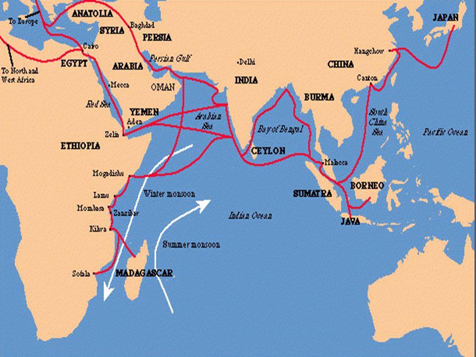 indian ocean trade 600 1750
