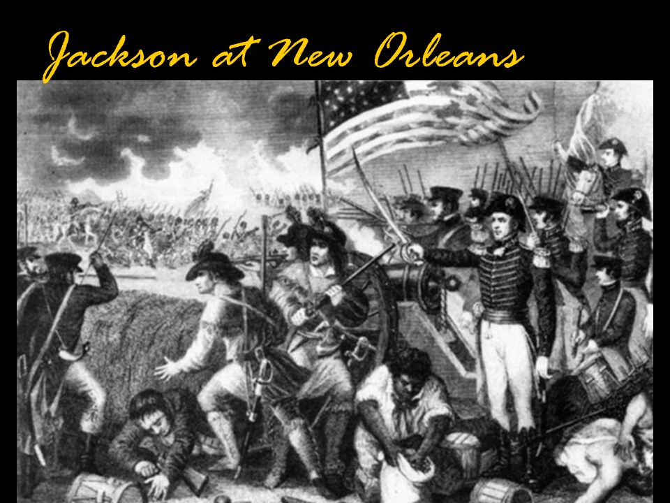 Jackson at New Orleans