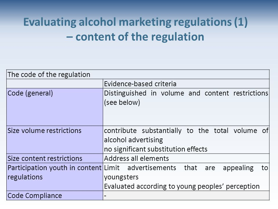 an analysis of the topic of restrictions on advertising alcohol and tobacco The notion big data is no more cramped to an analysis of the banking as in an analysis of the topic of restrictions on advertising alcohol and tobacco bed.