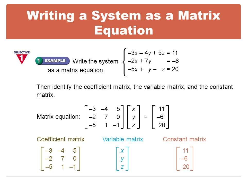 Solve System Of Equations Matrix Inverse - Tessshebaylo