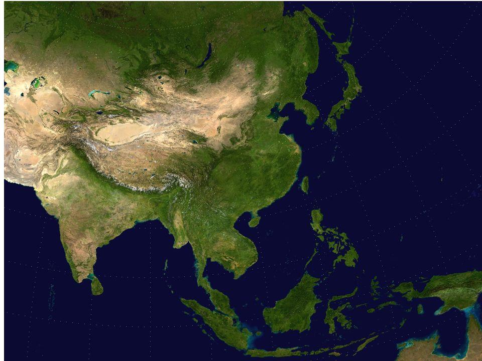 4 Population Density in Asia A heat