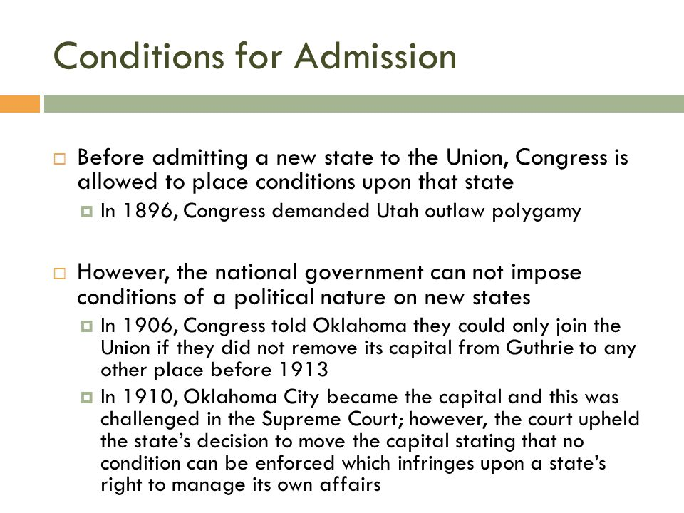 FEDERALISM 4.2 The National Government & The Fifty States. - ppt ...
