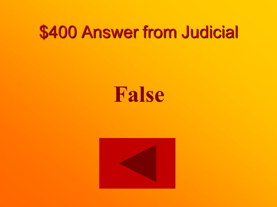 $400 question from Judicial True or False: The Supreme Court of Canada does not hear criminal cases.