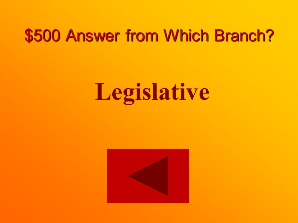 $500 question from Which Branch On which branch is provincial leader of the opposition