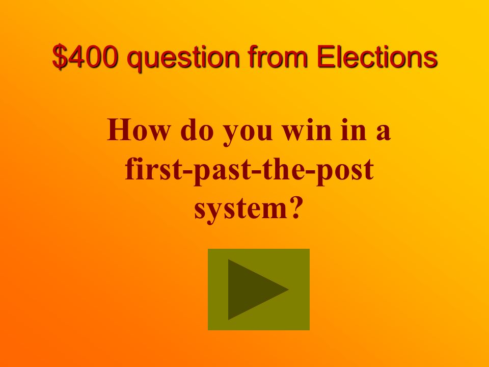 $300 Answer from Elections The ratio of members elected equals the percentage of votes cast for them.