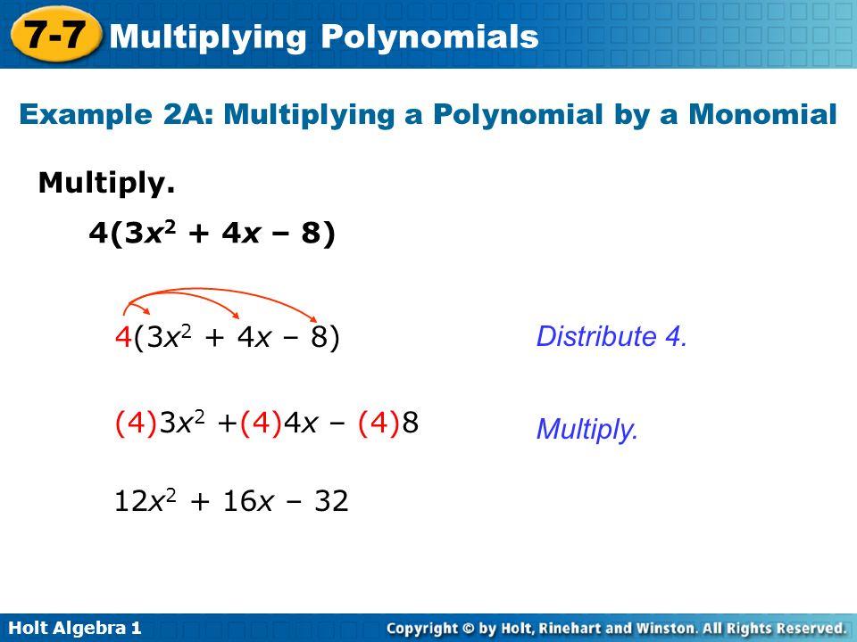 Multiplying Polynomials Worksheet Algebra 2 Deployday – Holt Algebra 1 Worksheets