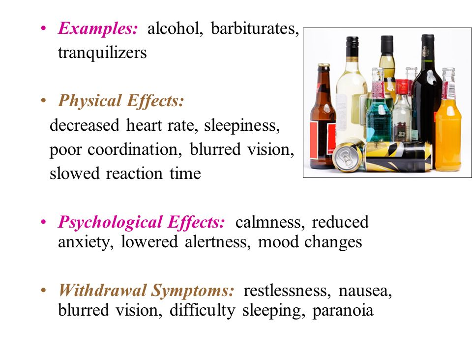psychological affects of alcoholism Alcohol dependence, or alcoholism, occurs when the body cannot function without alcohol alcohol affects certain neurotransmitters in the brain when the brain.