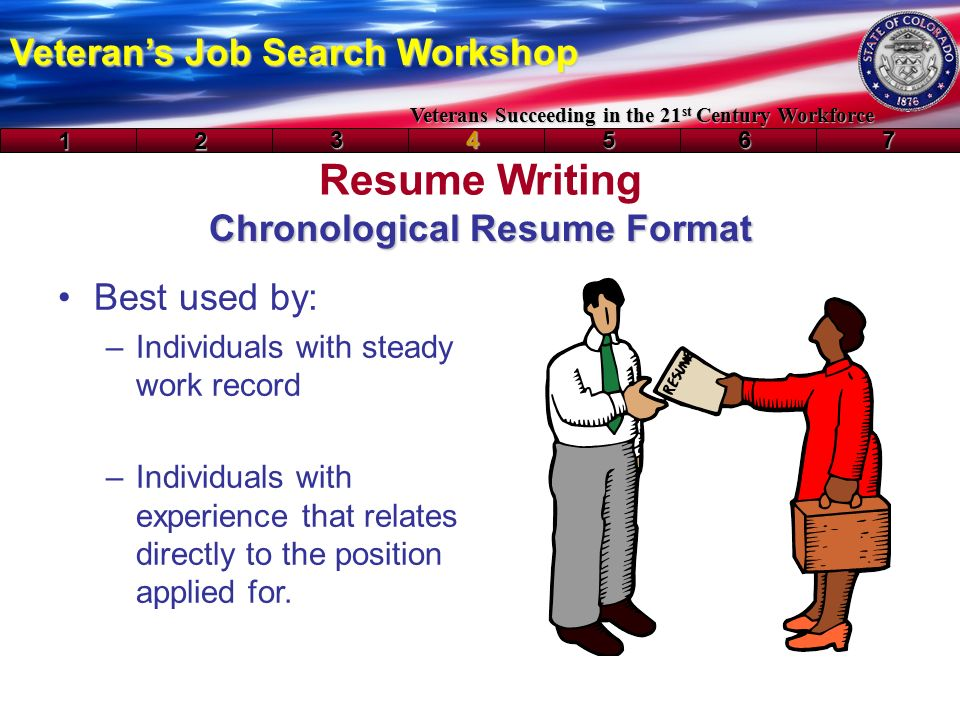 resume writing veteran s job search workshop veterans succeeding