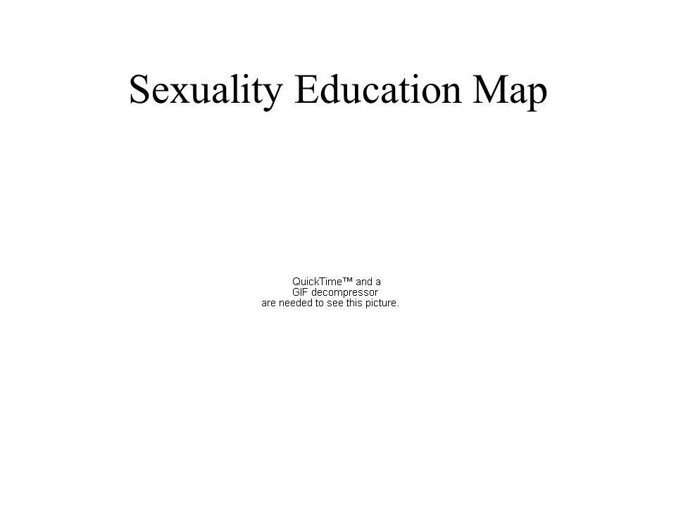 Chapter Sexuality Education Quote For The Day PARENTS ARE THE - Us sex ed map