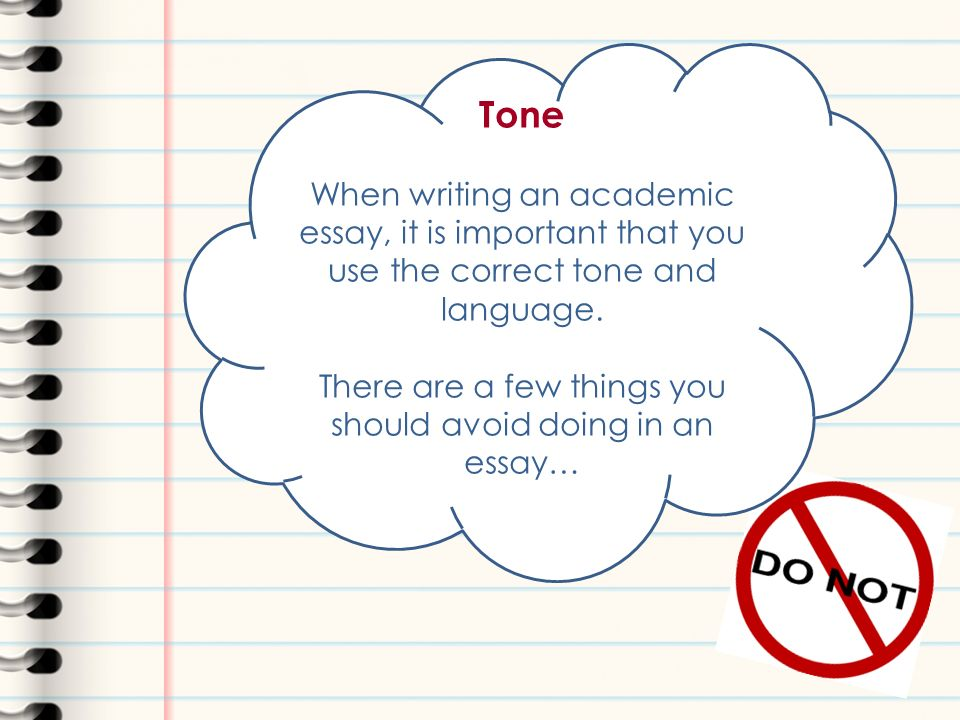 essay and report writing learning outcomes after completing this  tone when writing an academic essay it is important that you use the correct tone