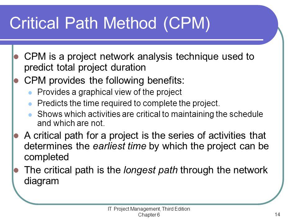 perceptions of project management cpmgt 300