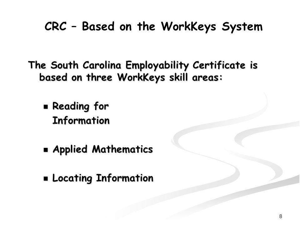 Lujo Workkeys Certification Inspiración - Certificado Actas de ...