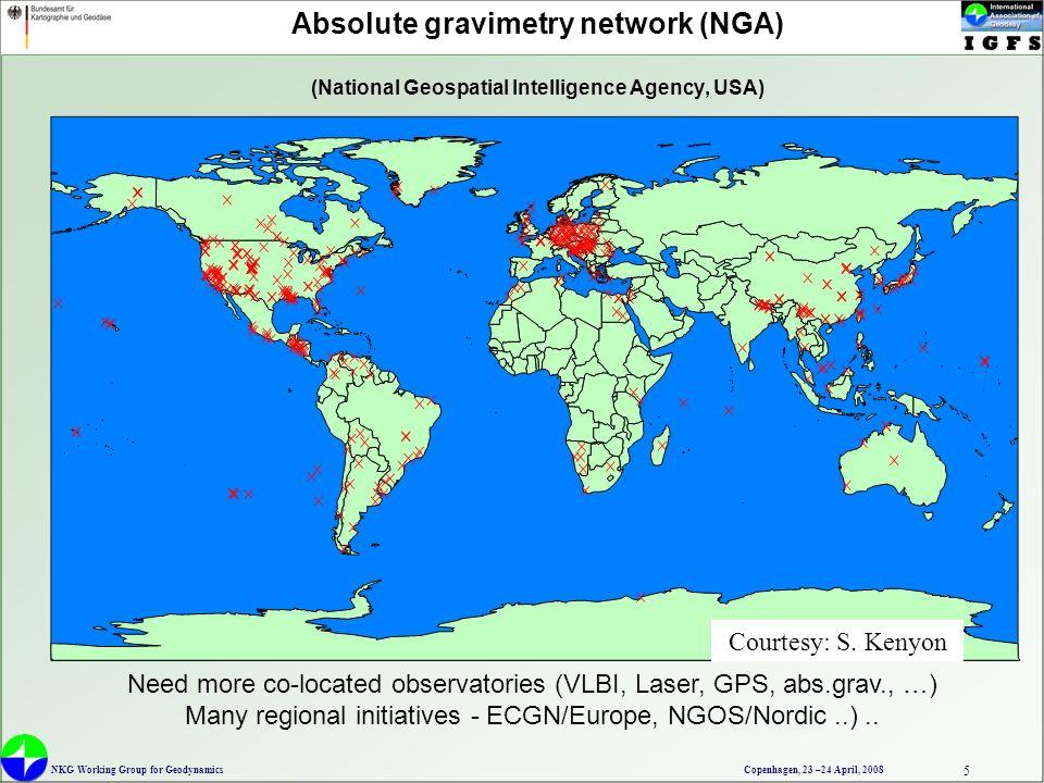 NKG Working Group For Geodynamics Copenhagen April AGrav - Where is copenhagen located