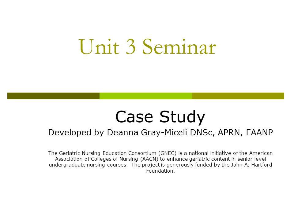 case study teaching method nursing