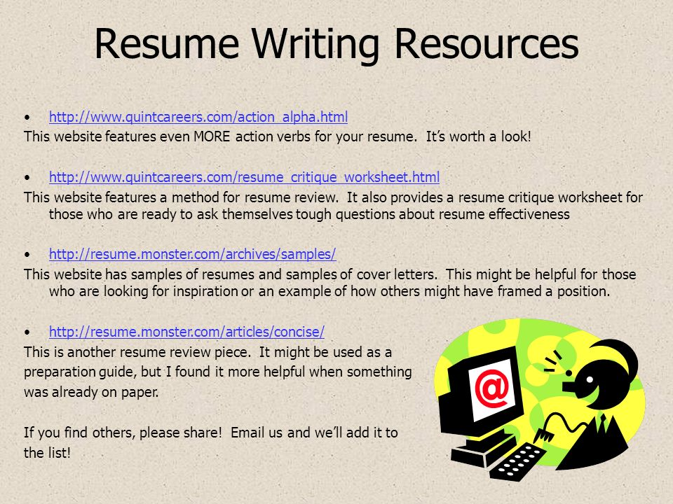 March to Employment Success Topic Resumes The Resume and the